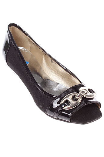 miss fidji chaussures femme de couleur noir