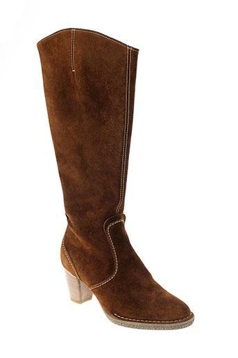ara bottes femme de couleur marron