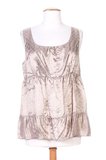 crea concept chemises femme de couleur beige