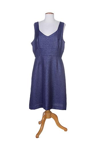 hug an' co robes femme de couleur bleu