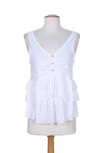 bande originale chemises femme de couleur blanc