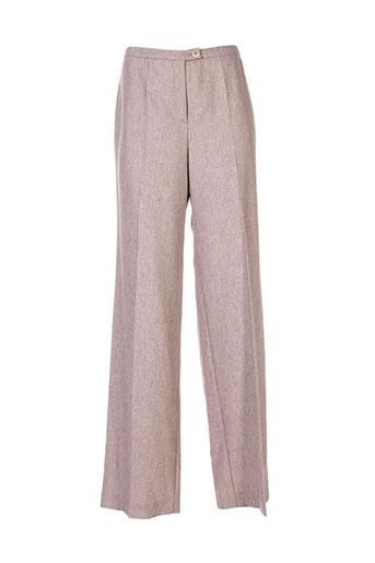georges rech pantalons femme de couleur beige