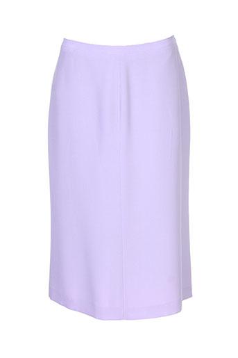 georges rech jupes femme de couleur violet