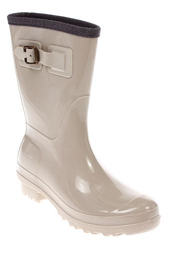 marella bottes femme de couleur beige