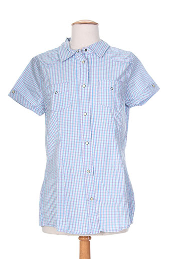 blend chemises femme de couleur bleu