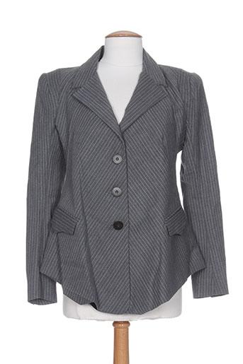 Veste chic / Blazer gris ROSA ROSAM pour femme