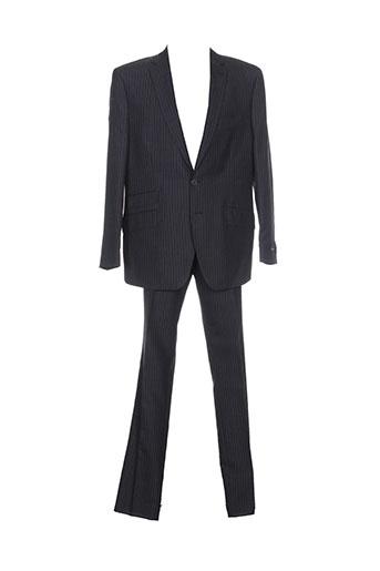 rochas pantalon et veste homme de couleur noir