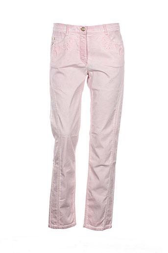 betty et barclay pantalons et decontractes femme de couleur rose