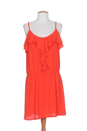 purple's by sh robes femme de couleur rouge