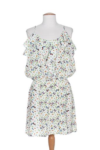 purple's by sh robes femme de couleur blanc