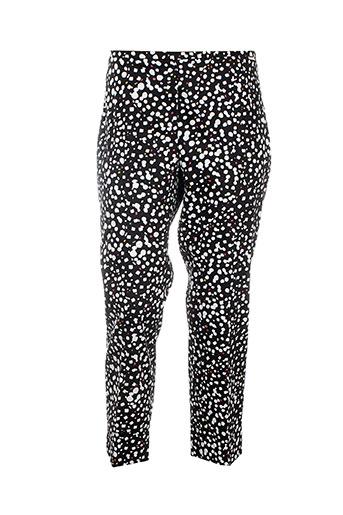carla et montanarini pantalons et decontractes femme de couleur noir