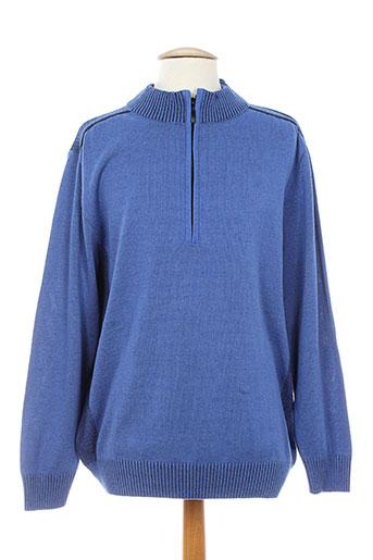 francesco botti pulls homme de couleur bleu