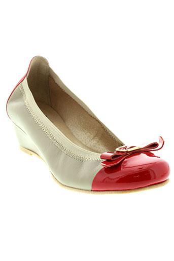 arima chaussures femme de couleur rouge