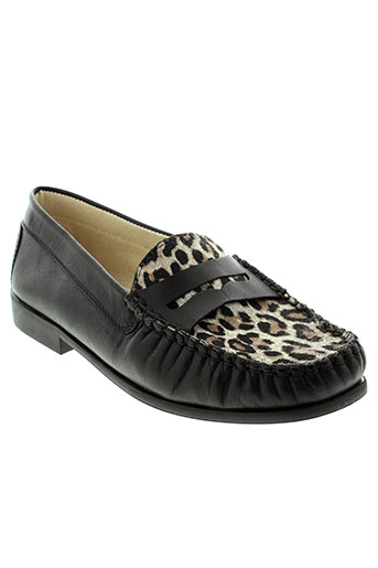 geo-reino chaussures fille de couleur noir