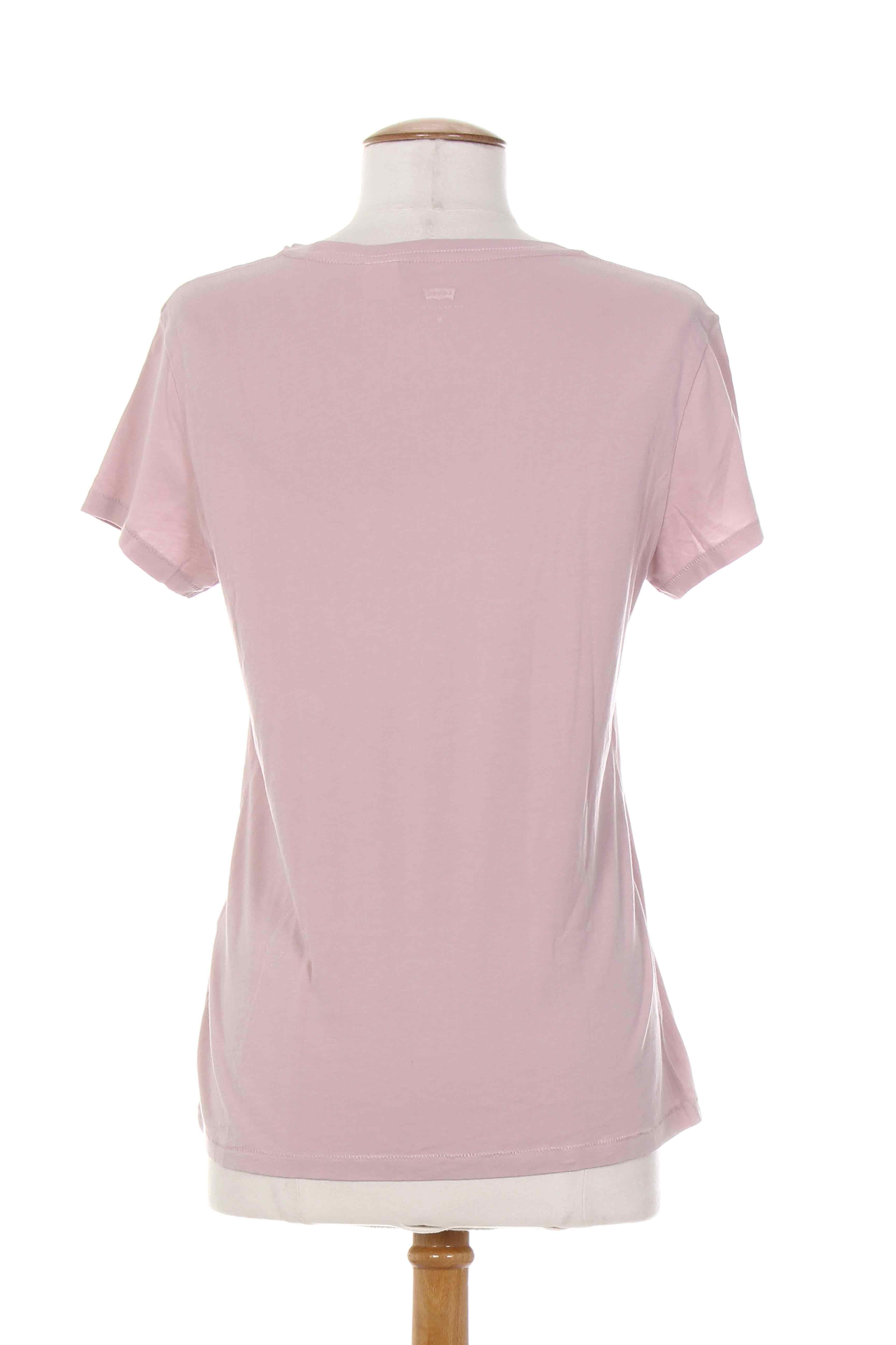 levis manches courtes 1 femme de couleur rose en soldes pas cher 838069 rose00 modz. Black Bedroom Furniture Sets. Home Design Ideas