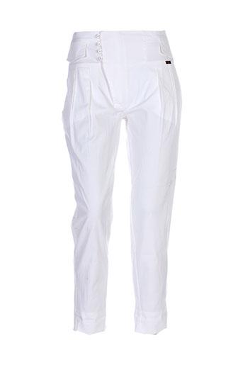 eureka pantalons femme de couleur beige