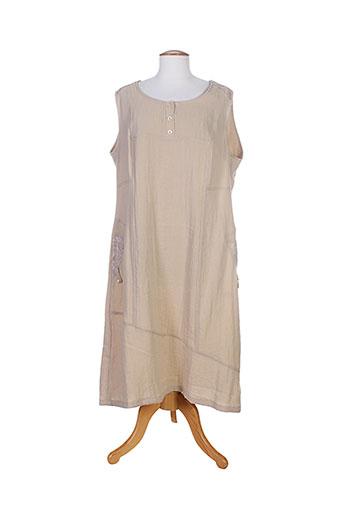 jean gabriel robes femme de couleur beige