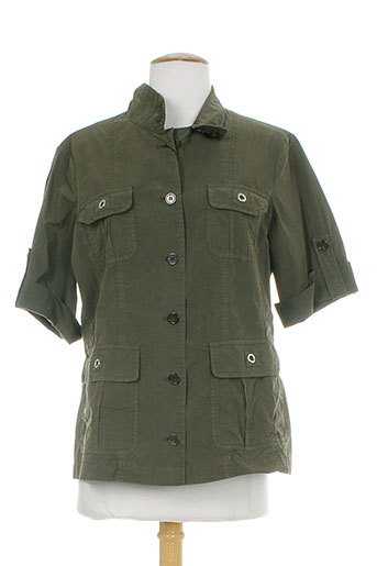 claudia gil chemises femme de couleur vert