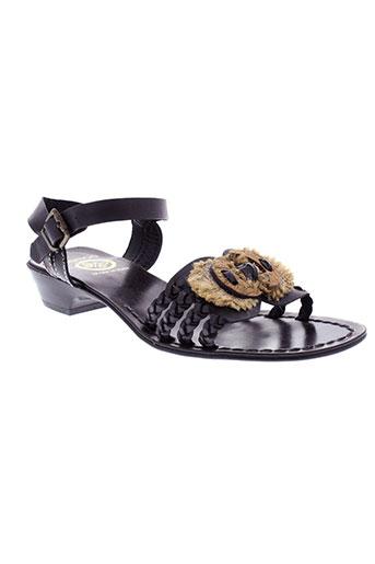 samoa chaussures femme de couleur noir
