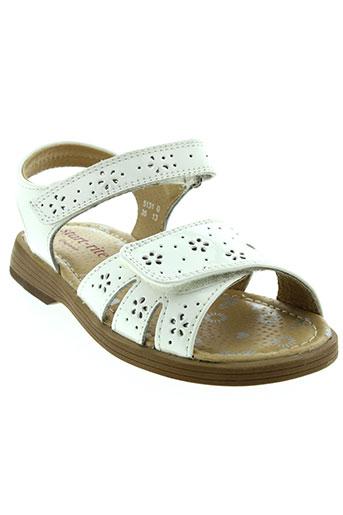 start et rite et shoes sandales et nu et pieds fille de couleur blanc
