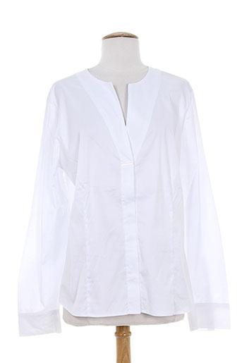 elena miro chemises femme de couleur blanc