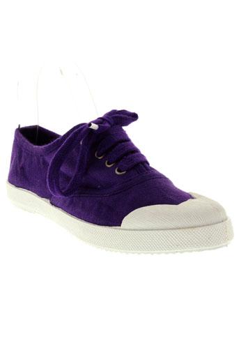 ippon et vintage baskets femme de couleur violet