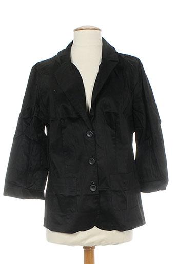 Veste chic / Blazer noir ELIE BONNIE pour femme