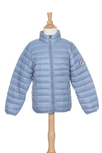 back et to et alaska doudounes enfant de couleur bleu