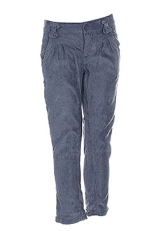 Pantalon chic bleu BENETTON pour fille