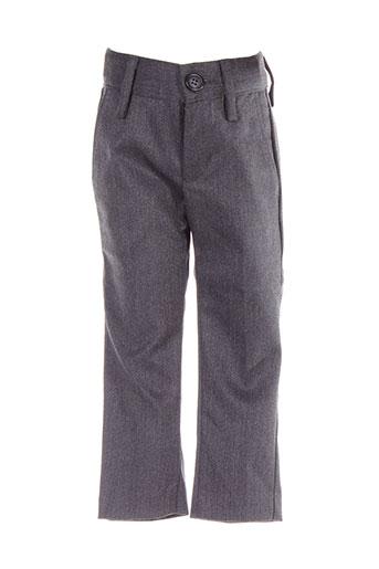 benetton pantalons garçon de couleur gris
