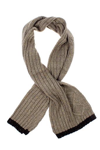 benetton echarpes et gants garcon de couleur marron
