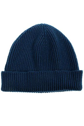Bonnet bleu BENETTON pour garçon