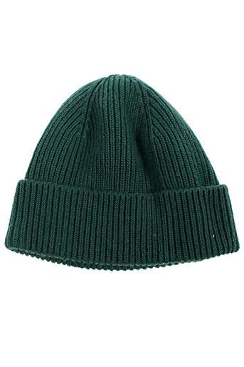 Bonnet vert BENETTON pour garçon