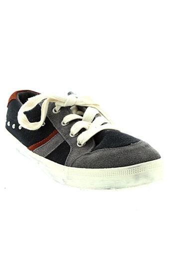 benetton chaussures garçon de couleur bleu