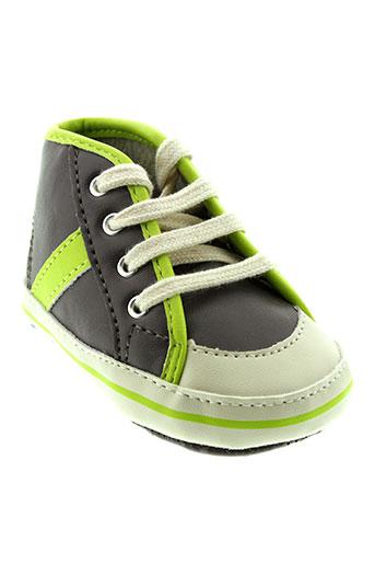 benetton chaussures garçon de couleur gris