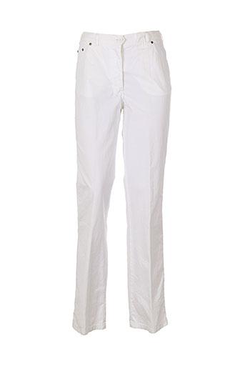 murk pantalons femme de couleur blanc
