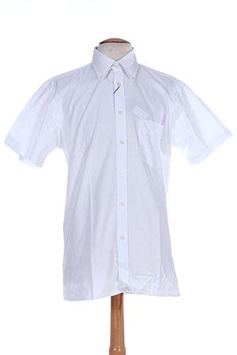 impact chemises homme de couleur blanc
