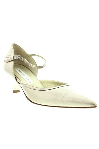 linea et raffaelli escarpins femme de couleur beige