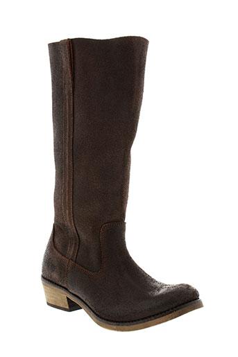 chipie bottes femme de couleur marron