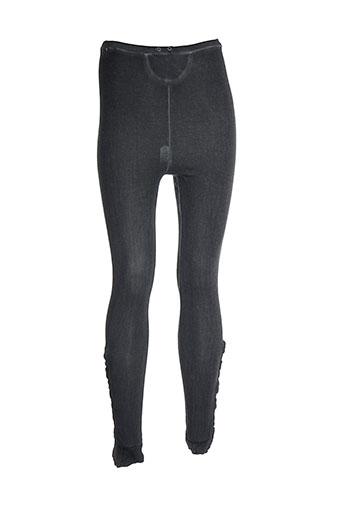 bray steve alan pantalons femme de couleur gris