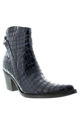 donna et piu boots femme de couleur bleu