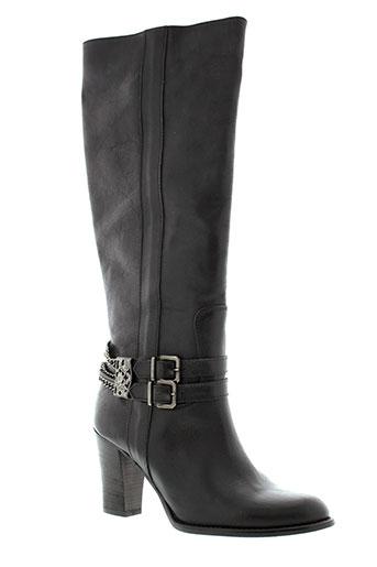 meline bottes femme de couleur noir