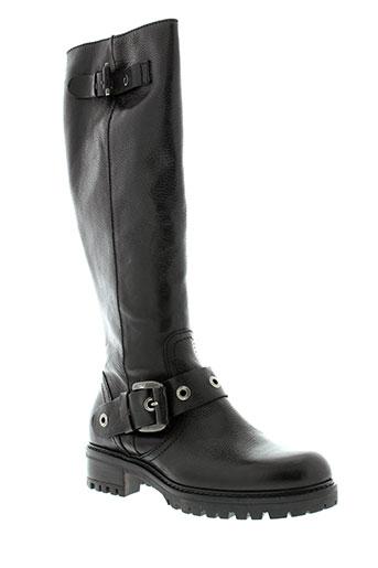 donna et piu bottes femme de couleur noir