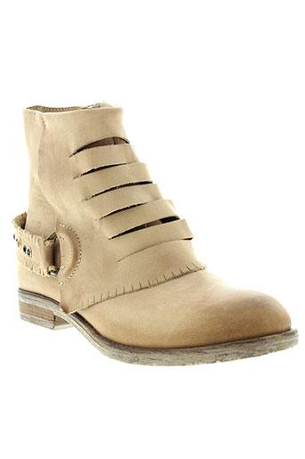 donna et piu boots femme de couleur beige