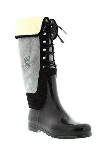 pajar bottes femme de couleur noir