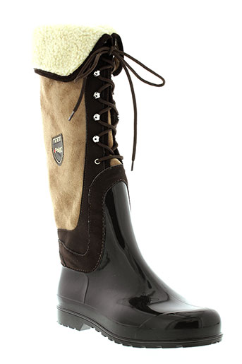pajar bottes femme de couleur marron