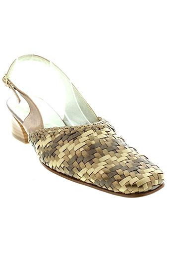 carline chaussures femme de couleur marron