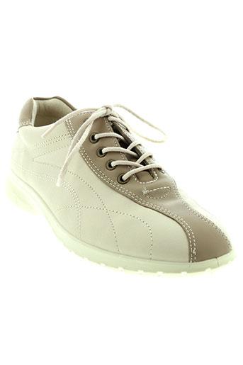 ecco chaussures femme de couleur beige