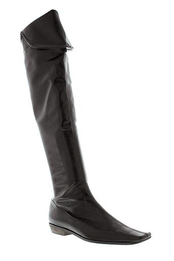 f et mode bottes femme de couleur marron