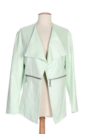 ciso vestes femme de couleur vert